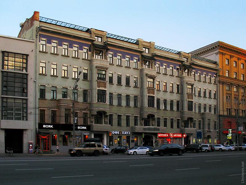 Дом Булгакова на Садовой