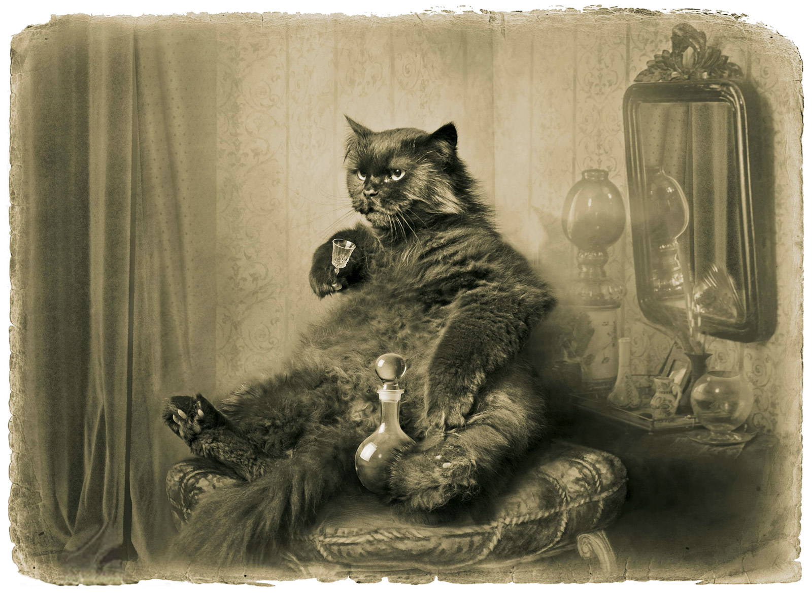 Картинки по запросу кот бегемот иллюстрации