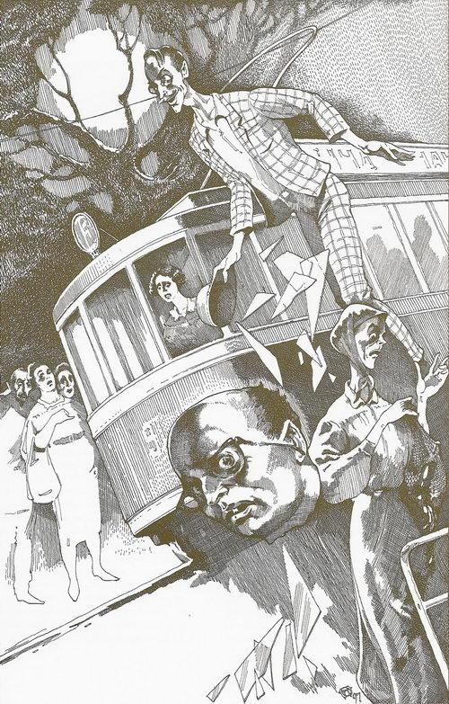 Трамвай отрезал голову Берлиозу